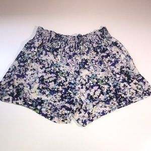 CAbi floral meadow shorts #5122